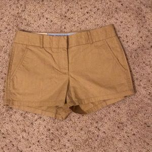 NWT J Crew Factory Size 0 Khaki 3 inch Shorts